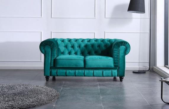 Sofá Chester velvet 2 plazas · Sofás · MLC Muebles · Tienda de muebles · Tienda online · Tienda de muebles en Tenerife · Canarias