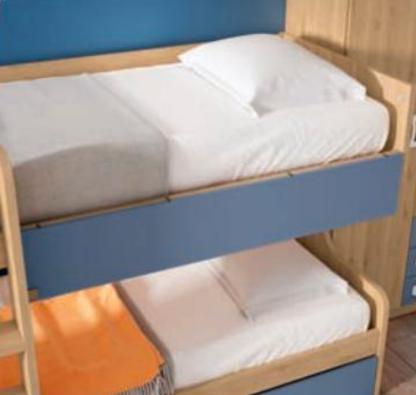 Litera y armario 2 puertas · Litera · Armario ·Dormitorio Juvenil · Dormitorios · Camas abatibles · MLC Muebles · Tienda de muebles · Tienda online · Tienda de muebles en Tenerife · Canarias