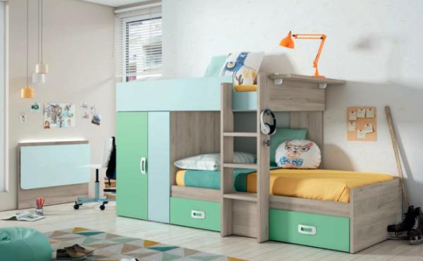 Tren Juvenil · Armario ·Dormitorio Juvenil · Dormitorios · Camas abatibles · MLC Muebles · Tienda de muebles · Tienda online · Tienda de muebles en Tenerife · Canarias