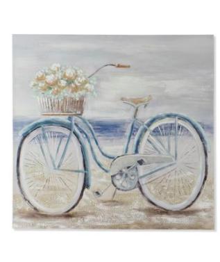 Cuadro Bicicleta Azul · Decoración · MLC Muebles · Tienda de Muebles · Tienda Online · Tenerife · Canarias