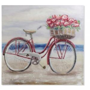 Cuadro Bicicleta Rojo · Decoración · MLC Muebles · Tienda de Muebles · Tienda Online · Tenerife · Canarias