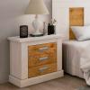 Mesa de noche Roncal · Dormitorios · MLC Muebles · Tienda de Muebles · Tienda Online · Tenerife · Canarias